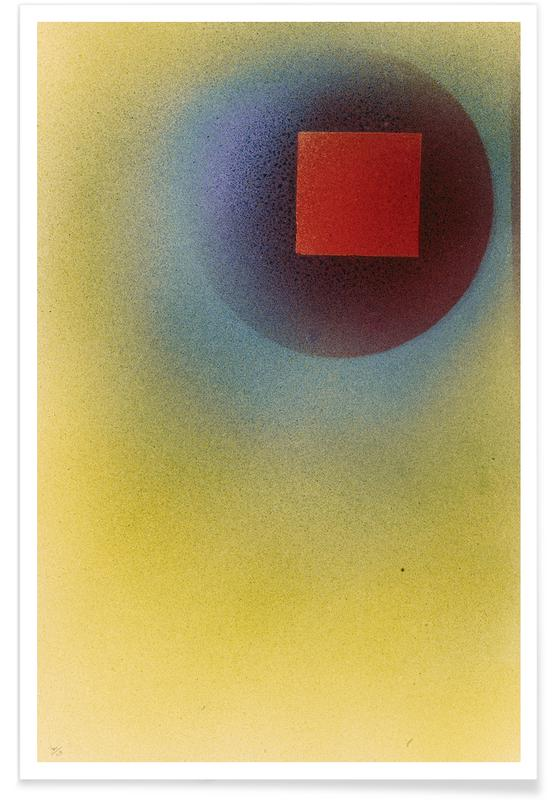 Wassily Kandinsky, Kandinsky - Square in a Circle poster