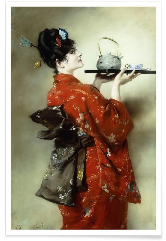 Japanese Inspired, Pausinger - The Japanese Lady Poster