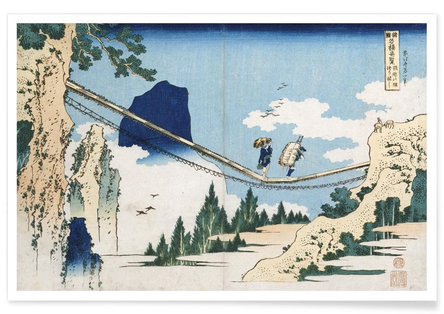 Japanese Inspired, Hokusai - Minister Toru Poster
