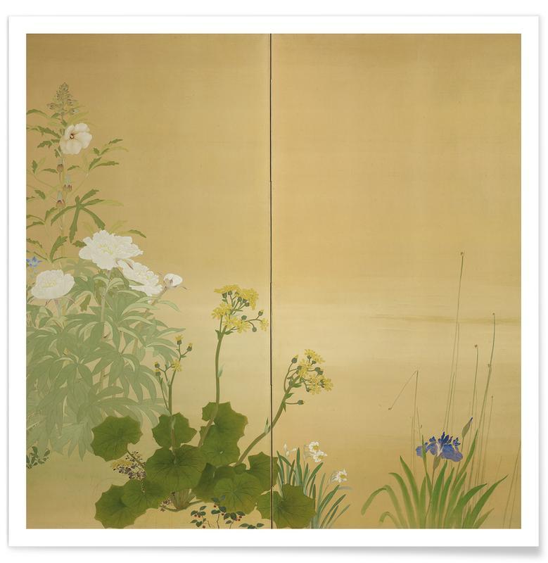 D'inspiration japonaise, Flowers of the Four Seasons affiche