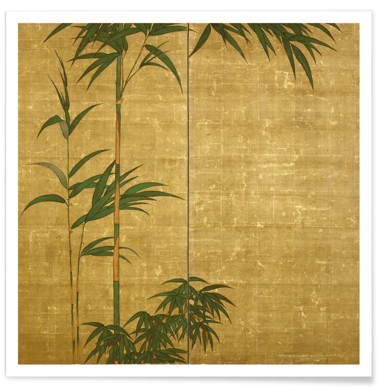 Japans geïnspireerd, Take (Bamboo) poster
