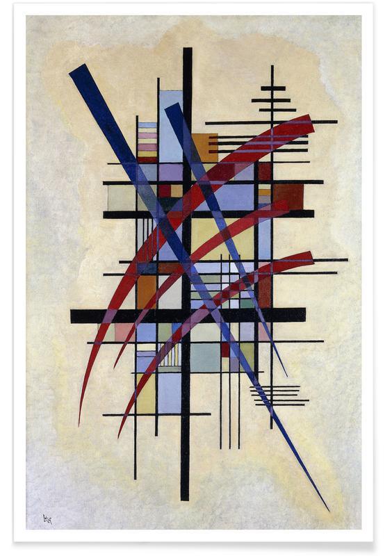 Wassily Kandinsky, Kandinsky - Signs with Companionship poster