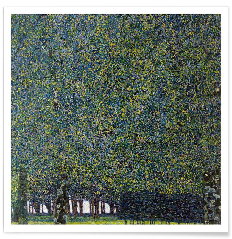 Gustav Klimt, Klimt - Park Poster