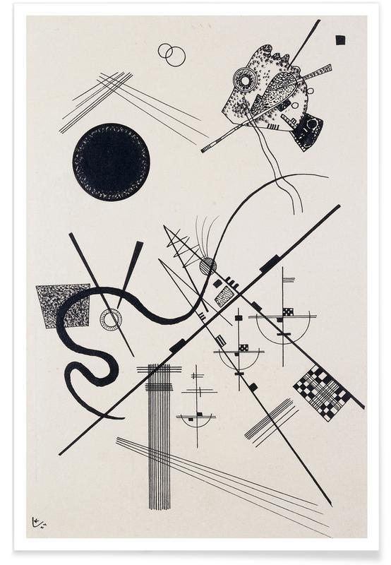 Wassily Kandinsky, Kandinsky - Untitled (Drawing 4) Poster