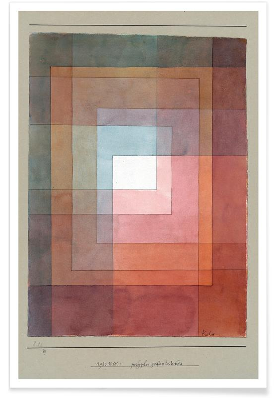 Paul Klee, Klee - White Framed Polyphonically poster