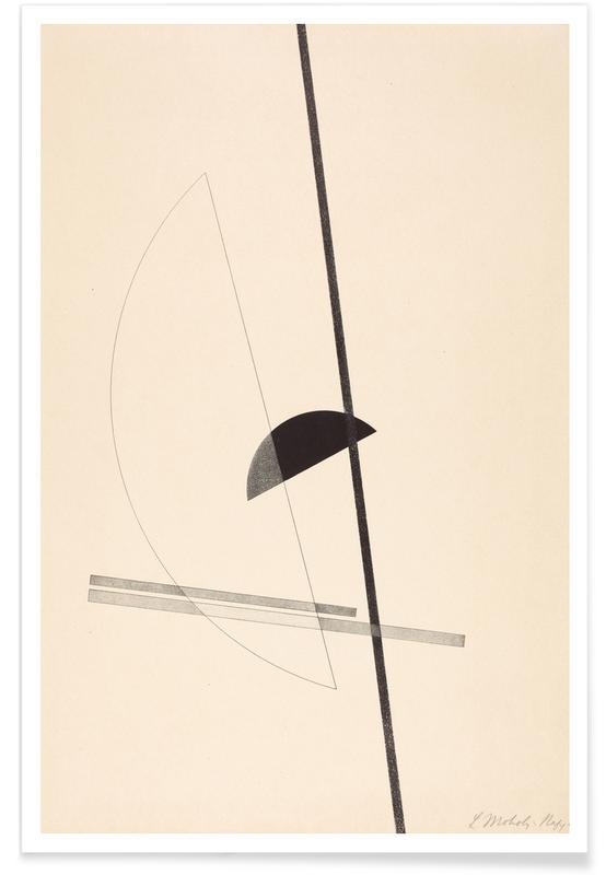 László Moholy-Nagy, László Moholy-Nagy - Constructions Poster
