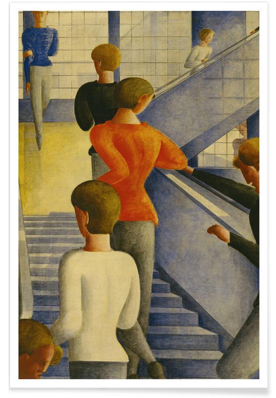 Oskar Schlemmer, Schlemmer - Bauhaus Stairway affiche