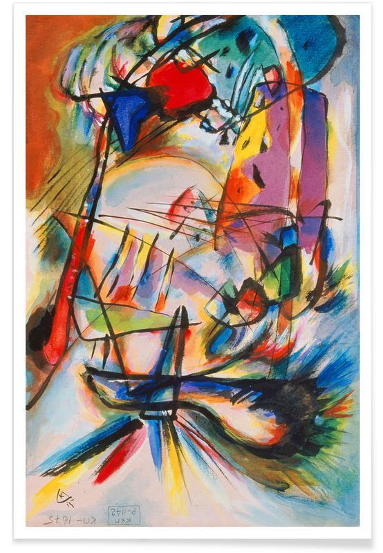 Wassily Kandinsky, Kandinsky - Komposition Zwecklos affiche