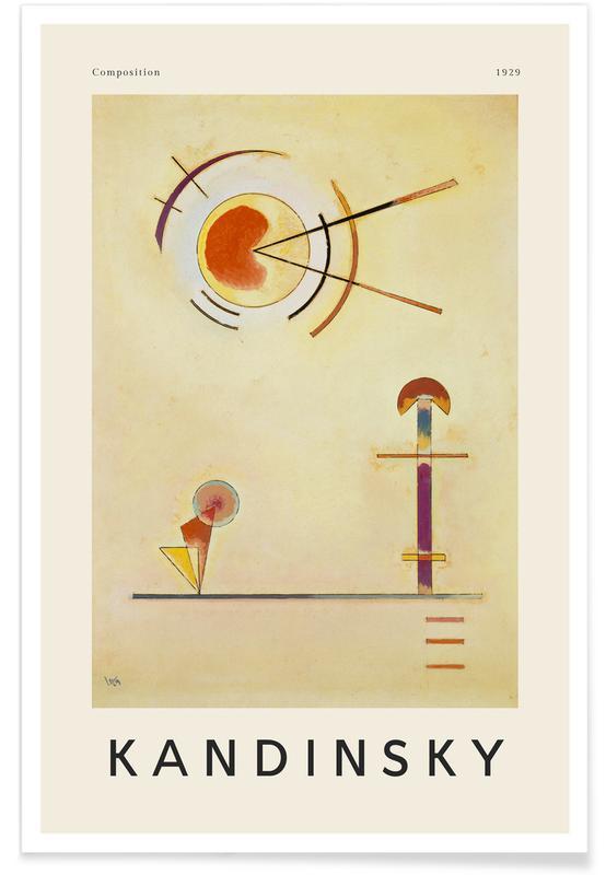 Wassily Kandinsky, Kandinsky - Composition poster