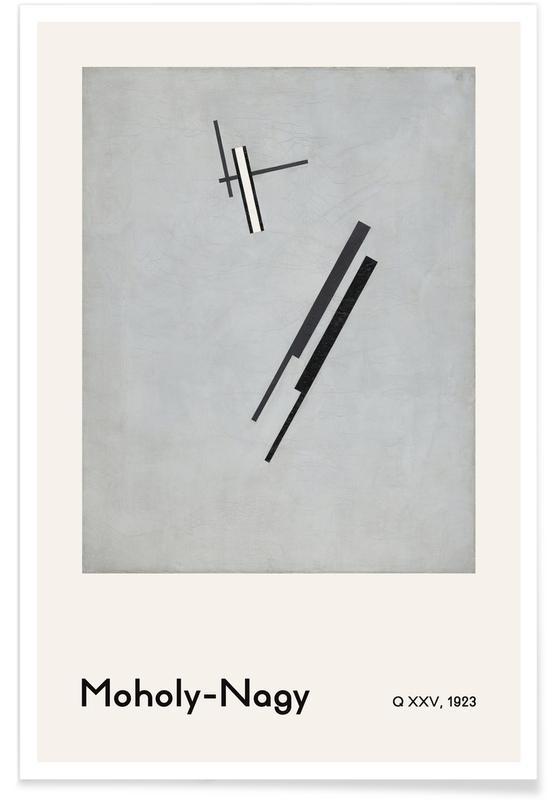 László Moholy-Nagy, László Moholy-Nagy - Q XXV Poster
