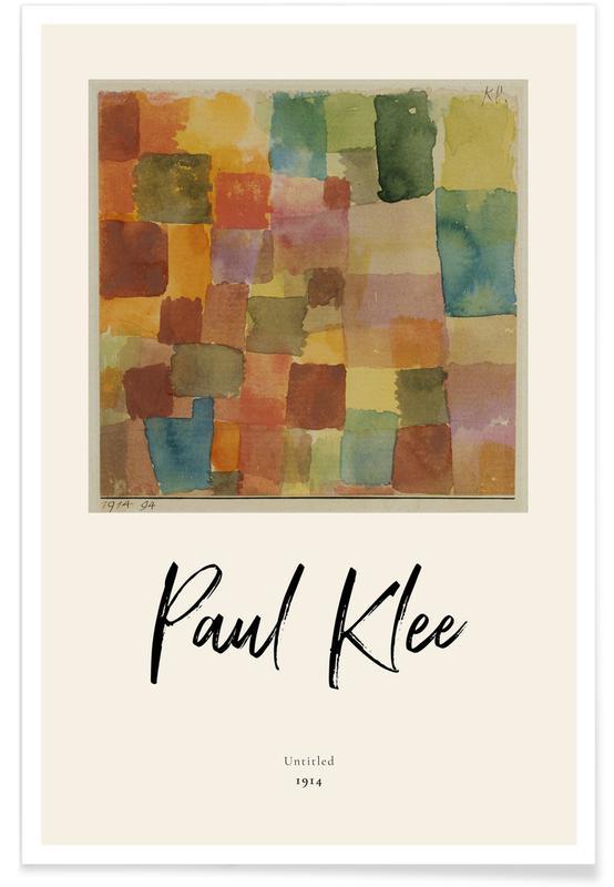 Paul Klee, Klee - Untitled affiche
