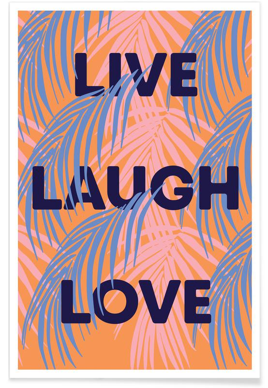 Quotes en slogans, Live poster