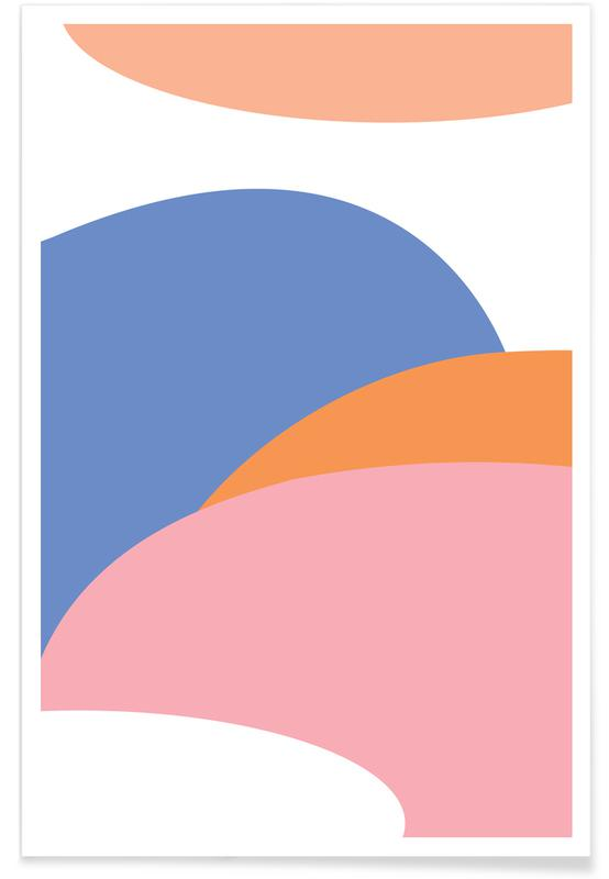 , Pastell poster