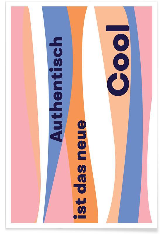 Quotes en slogans, Authentisch poster