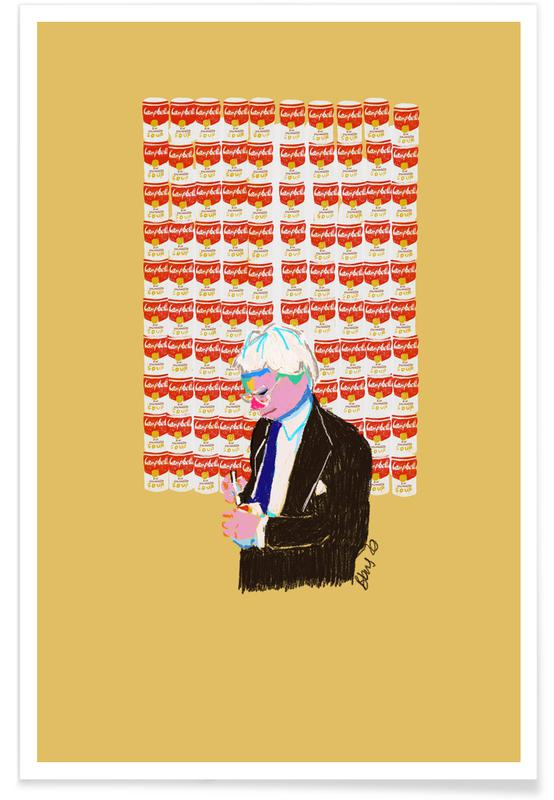 Andy Warhol, Portraits, Andy affiche
