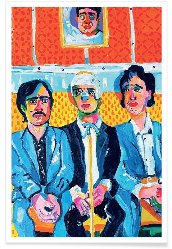 Filme, Porträts, Train Brothers -Poster