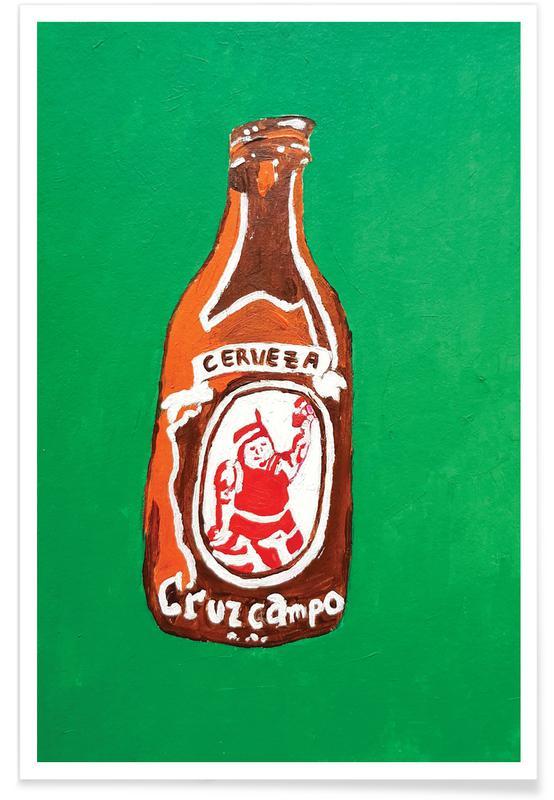 Bier, Cerveza -Poster