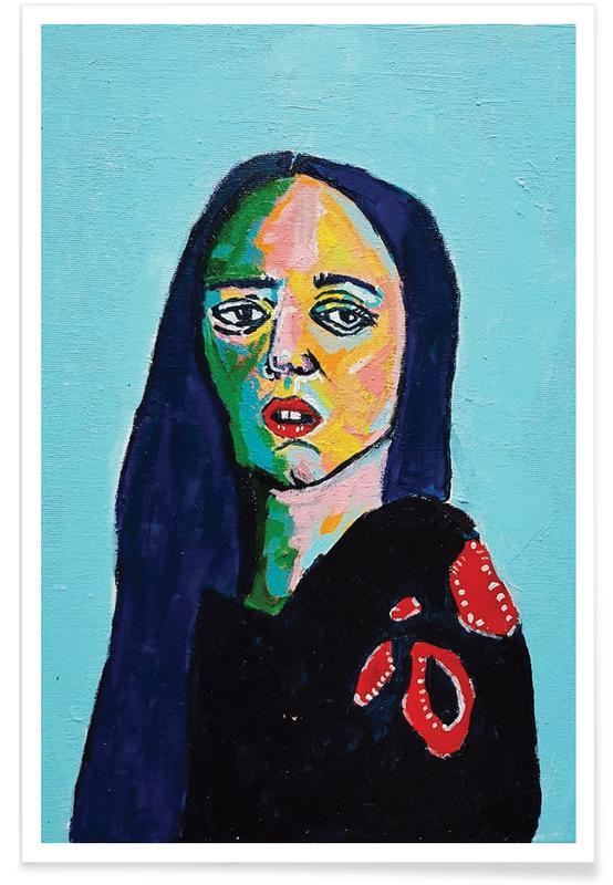 Portraits, Rosalia Poster