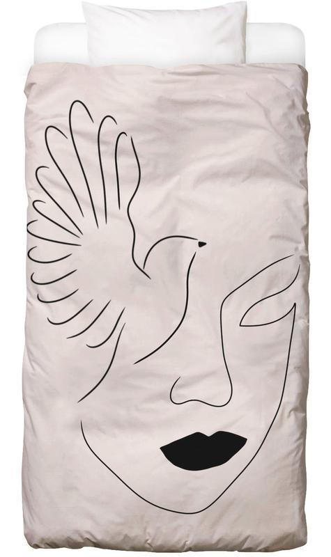 Porträts, Traumwelt, Lady Bird Bettwäsche
