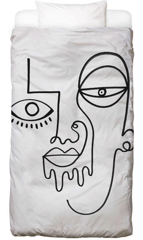 Schwarz & Weiß, Traumwelt, Trueself Bettwäsche