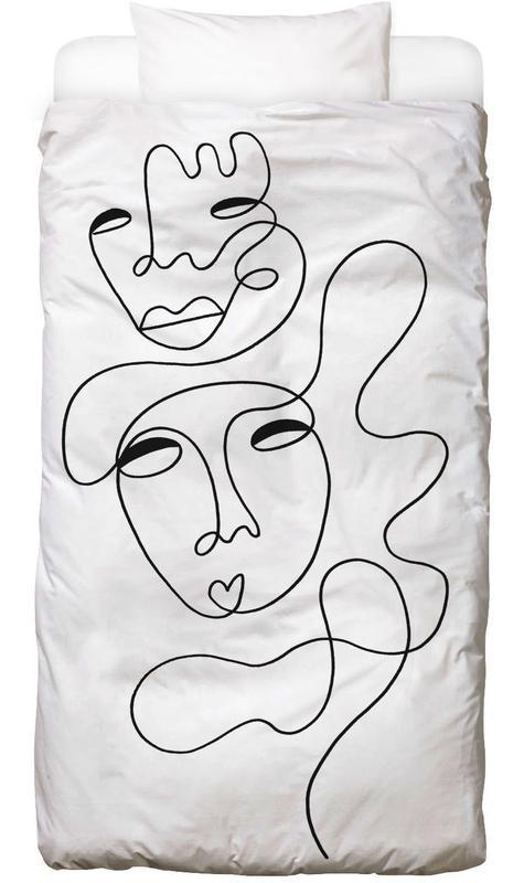 Schwarz & Weiß, Traumwelt, Thinking About You Bettwäsche
