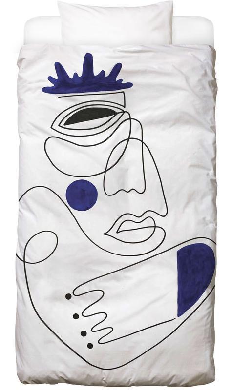 Schwarz & Weiß, Porträts, Traumwelt, The Guardian Bettwäsche