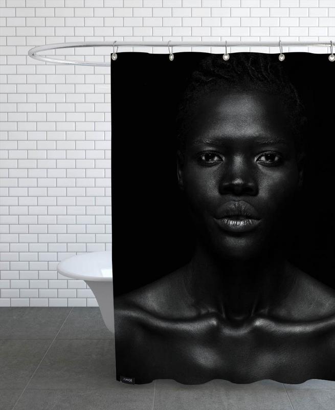Portraits, Fashion Photography, Nina Shower Curtain
