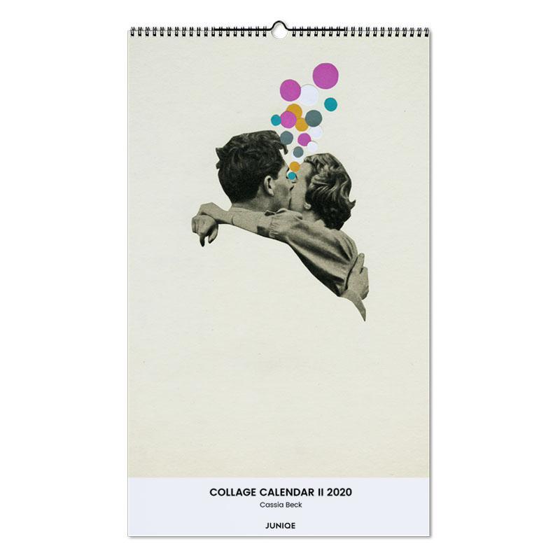 Collage Calendar II 2020 - Cassia Beck calendrier mural