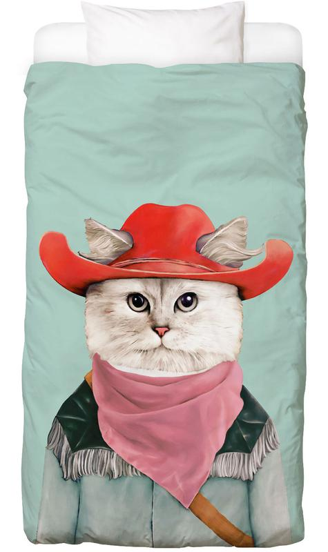 Rodeo Cat Kids' Bedding