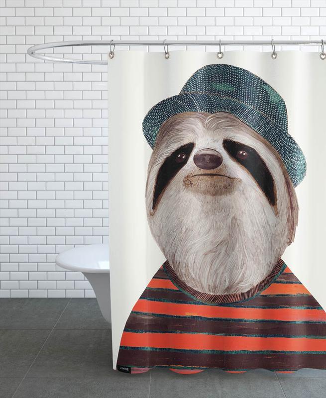 Funky Sloth -Duschvorhang
