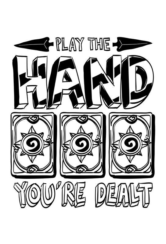 Play The Hand Acrylic Print