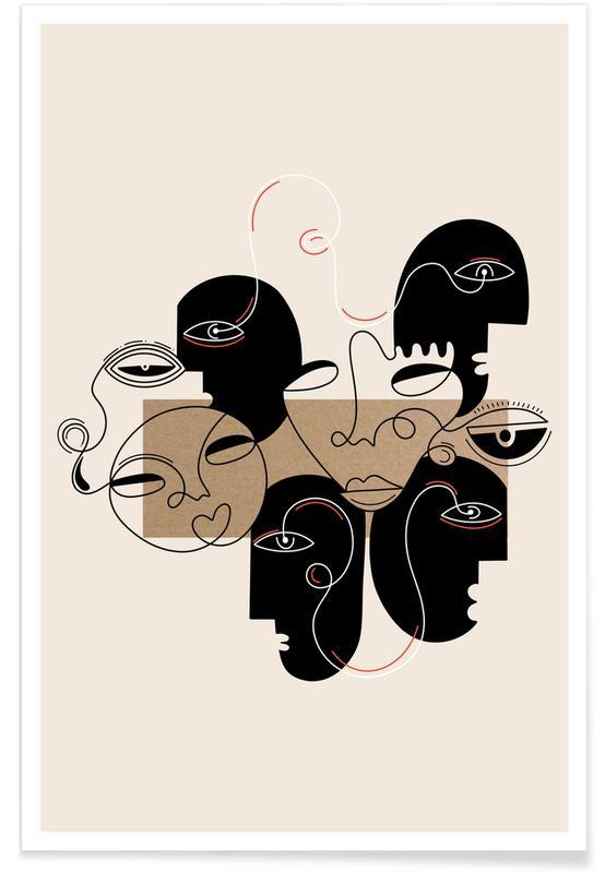 Schwarz & Weiß, Traumwelt, Be On The Watch -Poster
