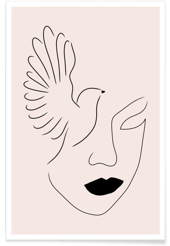 Portraits, Rêve, Lady Bird affiche