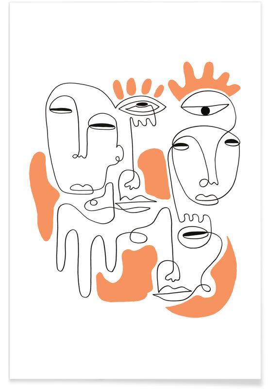 Portraits, Rêve, Eye Mystery affiche
