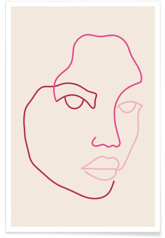 Dreamy, Portraits, Althea Poster