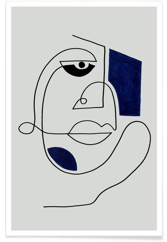 Portraits, Rêve, Ghosts In Mist-II affiche