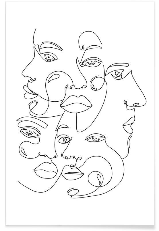 Noir & blanc, Rêve, The Secret Society affiche