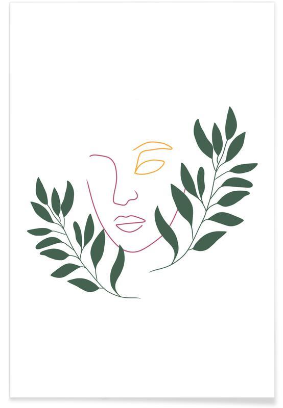 Portraits, Rêve, Leaf The Girl affiche