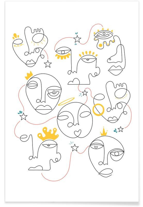 Porträts, Traumwelt, Kingdom -Poster