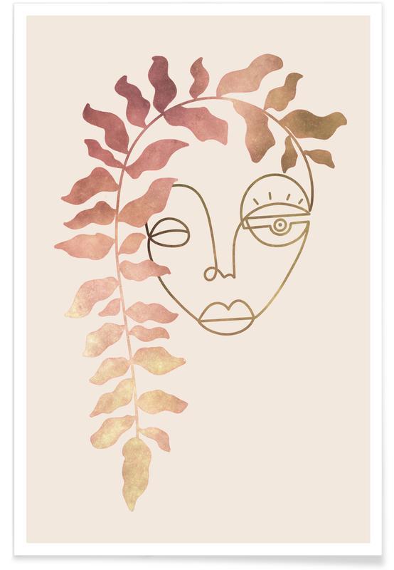 Portraits, Rêve, Lady Bloom affiche