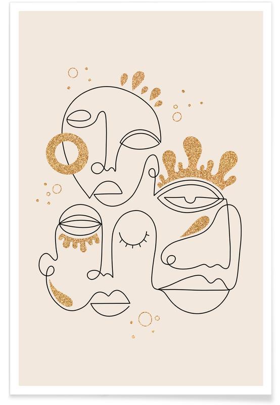 Dromerig, Portretten, The Golden Connection poster