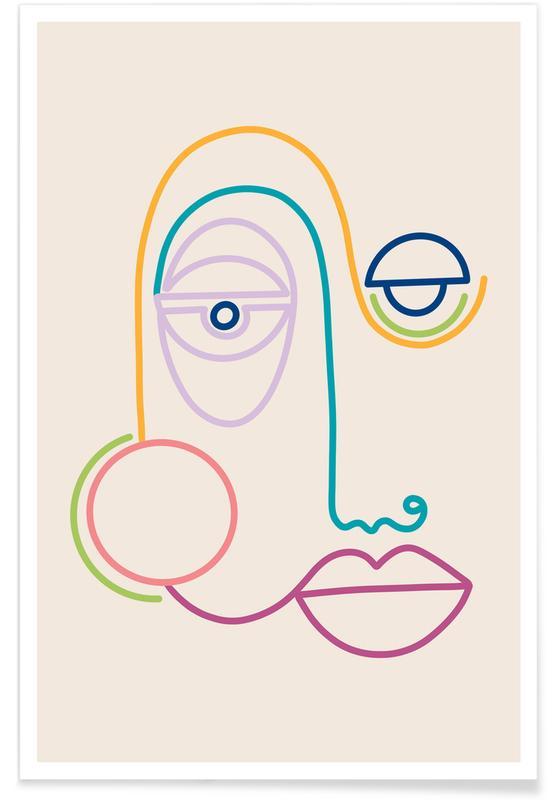 Porträts, Traumwelt, Joyful Soul -Poster