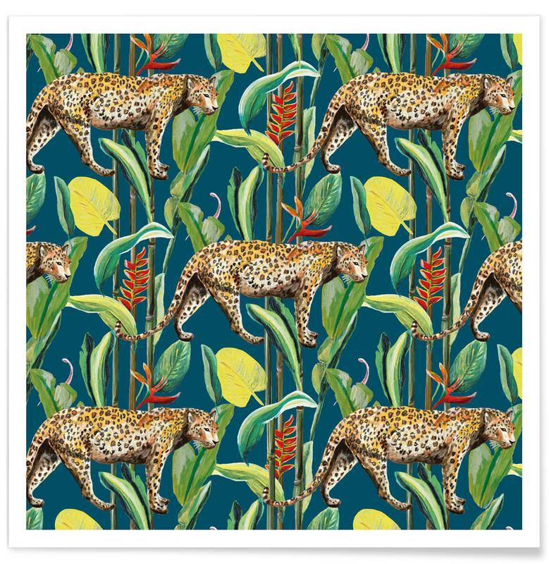 Forests, Wild Jungle Stories Panter Poster