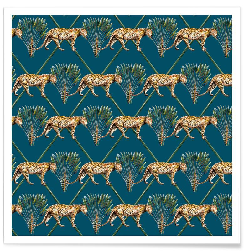 D'inspiration japonaise, Forêts, Panther Palm affiche