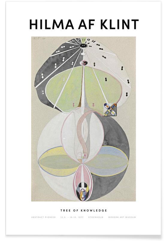 Hilma af Klint, Tree of Knowledge II affiche