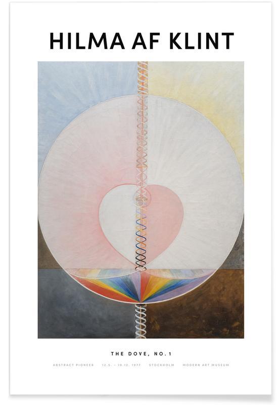 Hilma af Klint, The Dove, No. 1 II affiche
