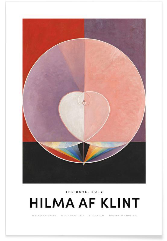Hilma af Klint, The Dove, No. 2 II poster