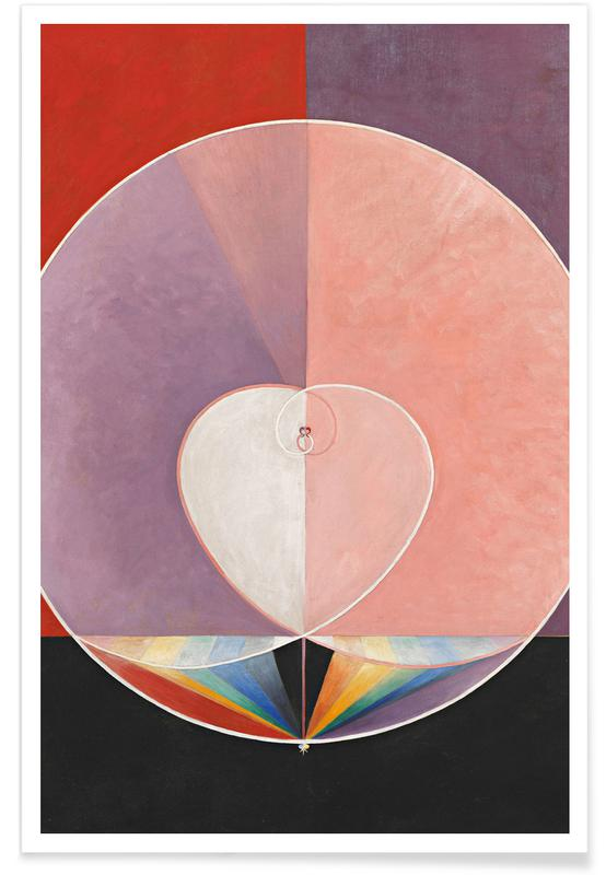 Hilma af Klint, The Dove, No. 2 III affiche