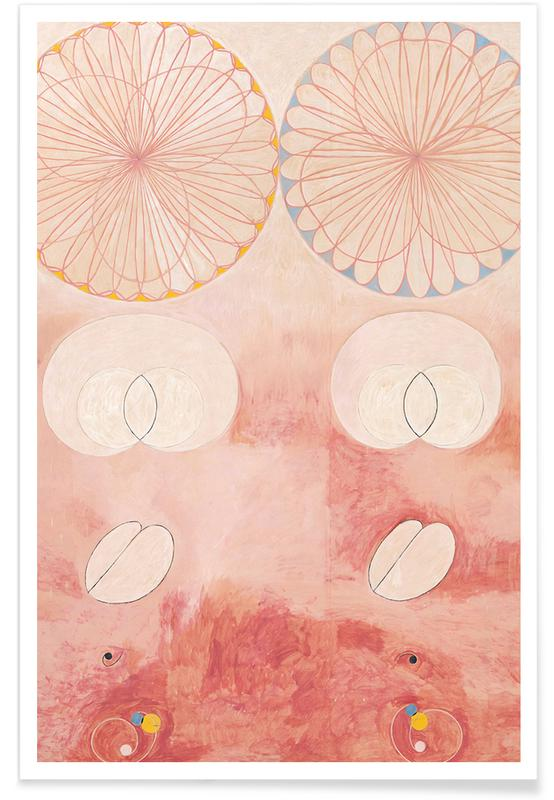 Hilma af Klint, The Ten Largest, No. 9 III affiche
