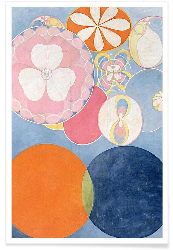 Hilma af Klint, Childhood, No. 2 III affiche